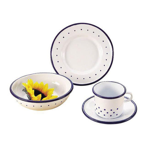 Gluckskafer enamel cup and saucer-pretend play-Fire the Imagination-Dilly Dally Kids