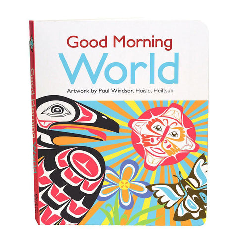 Good Morning World board book-books-Raincoast-Dilly Dally Kids