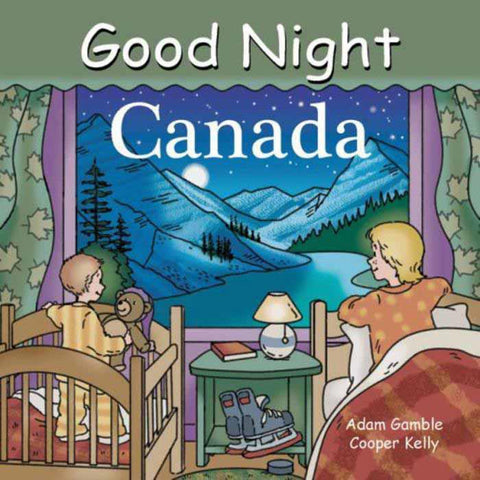 Good Night Canada board book-books-Penguin Random House-Dilly Dally Kids