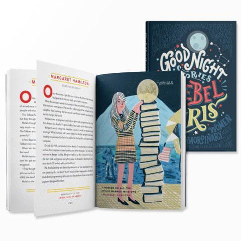 good night stories for rebel girls-books-Rebel Girls-Dilly Dally Kids