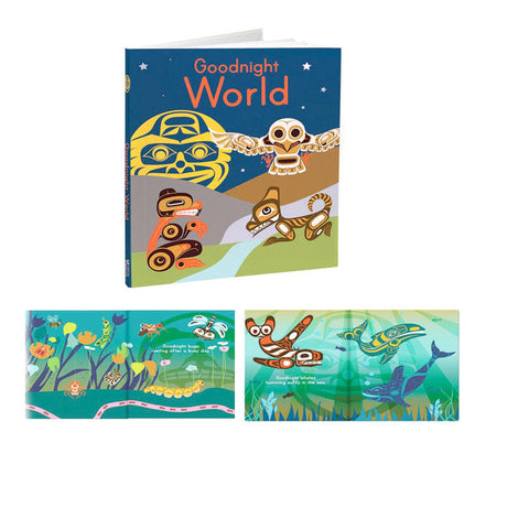Goodnight World board book-books-Raincoast-Dilly Dally Kids