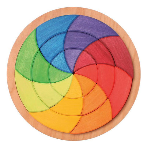 Grimm's Goethe's colour circle - large-blocks & building sets-Fire the Imagination-Dilly Dally Kids