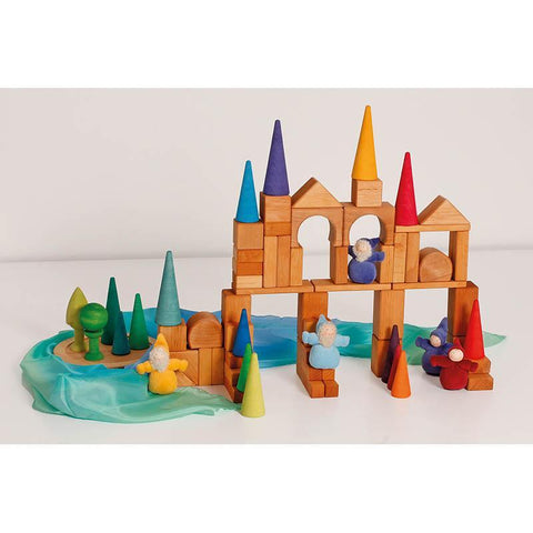 Grimm's rainbow forest-blocks & building sets-Fire the Imagination-Dilly Dally Kids