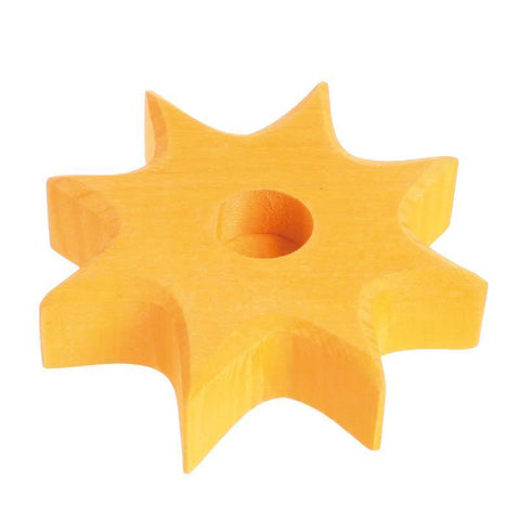 Grimm's small yellow star lifelight-decor-Fire the Imagination-Dilly Dally Kids