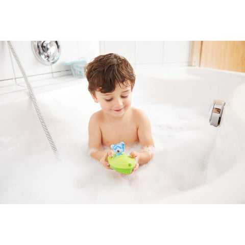 Haba bath boat & mouse ahoy-bath toys-Haba-Dilly Dally Kids