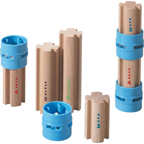 Haba kullerbu complementary set - columns-blocks & building sets-Haba-Dilly Dally Kids