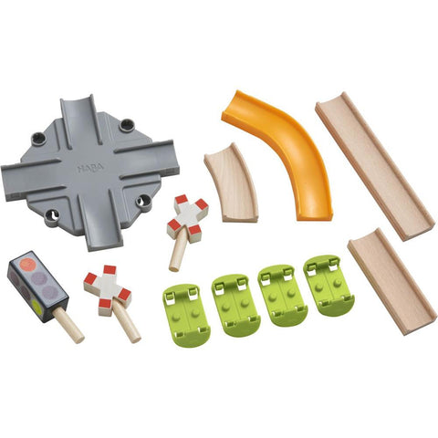 Haba kullerbu complementary set - intersection-blocks & building sets-Haba-Dilly Dally Kids