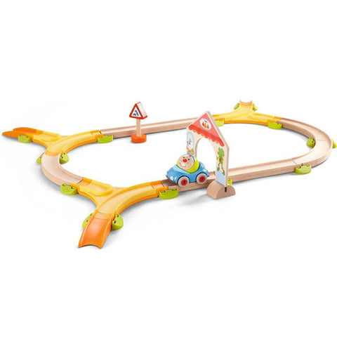Haba kullerbu kringel roundabout play track-blocks & building sets-Haba-Dilly Dally Kids