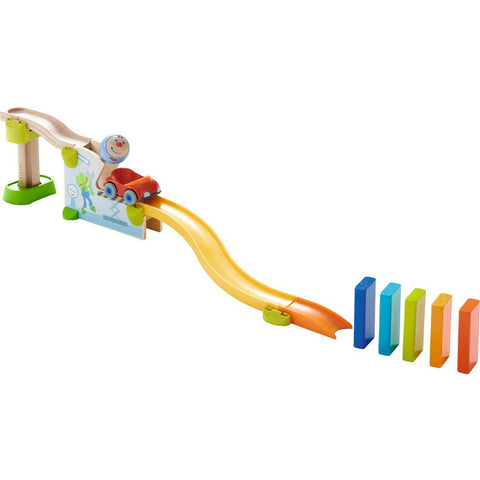Haba kullerbu theme set - jump into the car-blocks & building sets-Haba-Dilly Dally Kids