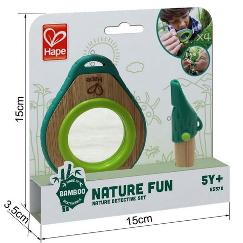 Hape nature fun detective set