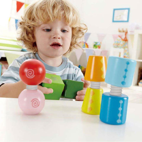 Hape twist and turnables