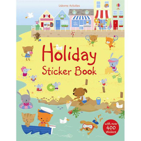Holiday sticker book-activity books-Harper Collins-Dilly Dally Kids