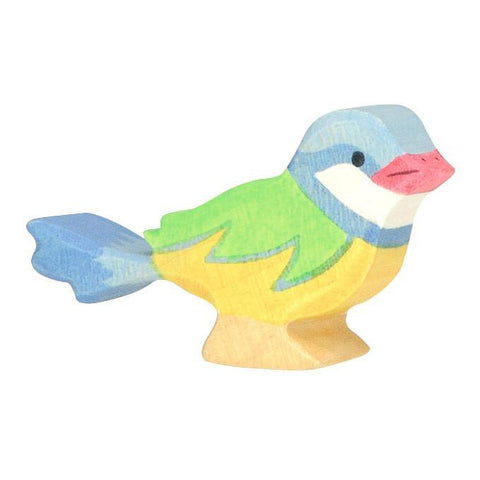 wooden blue tit bird-figures-Holztiger-Dilly Dally Kids