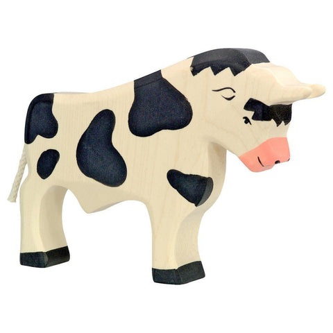 wooden bull-figures-Holztiger-Dilly Dally Kids