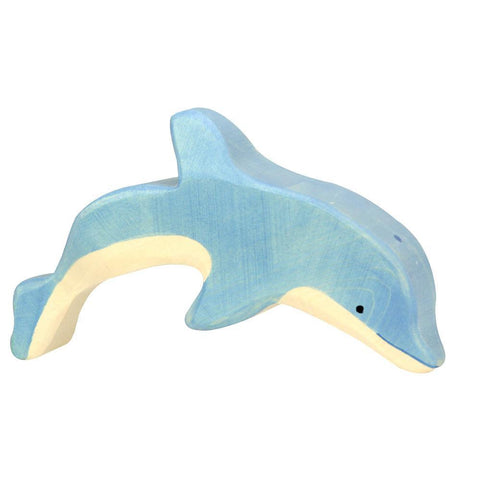 wooden dolphin-figures-Holztiger-Dilly Dally Kids