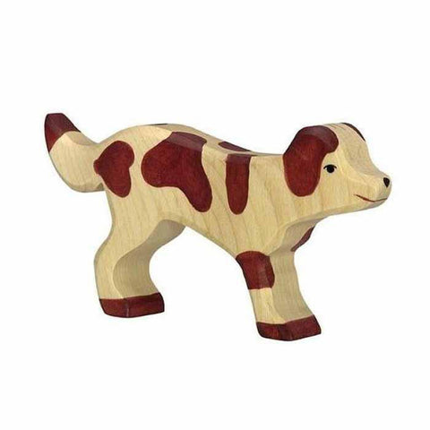 wooden farm dog-figures-Holztiger-Dilly Dally Kids