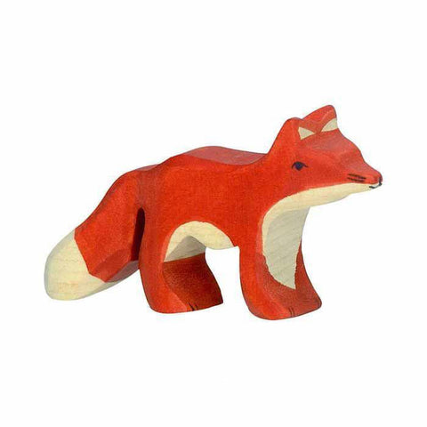 wooden fox kit-people, animals & lands-Holztiger-Dilly Dally Kids