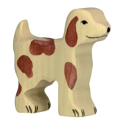 wooden small farm dog-people, animals & lands-Holztiger-Dilly Dally Kids