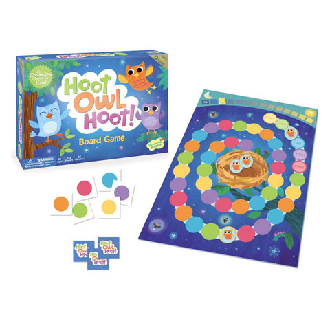 hoot owl hoot! game-games-Peaceable Kingdom-Dilly Dally Kids