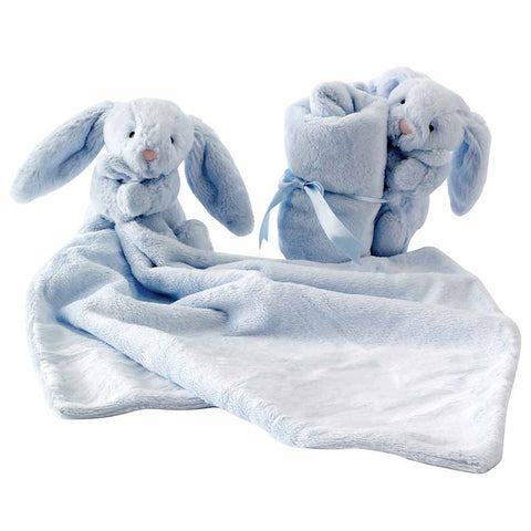 Jellycat blue bunny soother-baby-Jellycat-Dilly Dally Kids