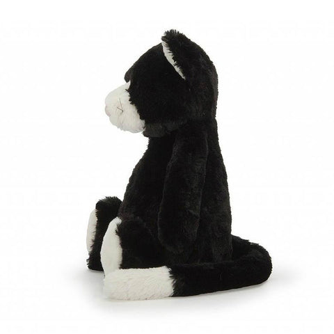 Jellycat medium bashful black and white cat