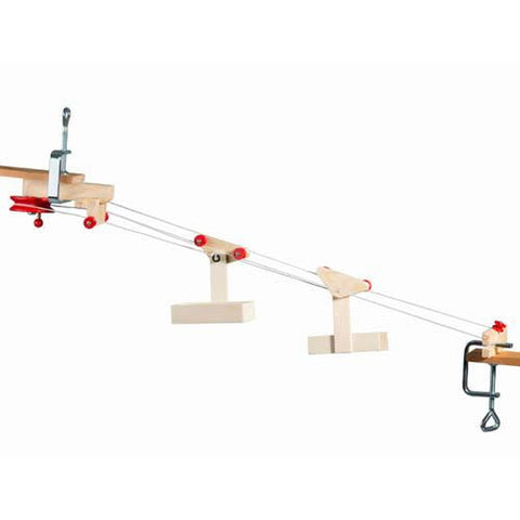 Kraul mini cable car - 2 cars and station-science & nature-Kraul-Dilly Dally Kids