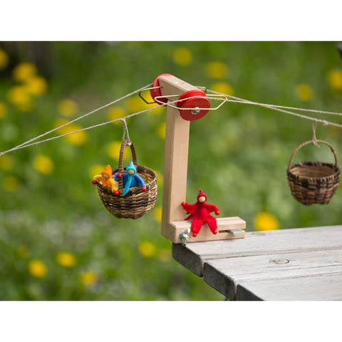 Kraul raised support for basket cable car-science & nature-Kraul-Dilly Dally Kids