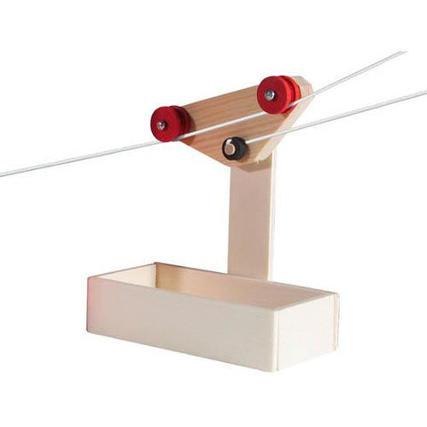 Kraul small wooden cable car-science & nature-Kraul-Dilly Dally Kids