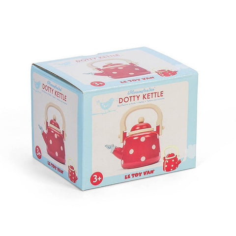 Le Toy Van Honeybake dotty kettle-pretend play-Le Toy Van-Dilly Dally Kids