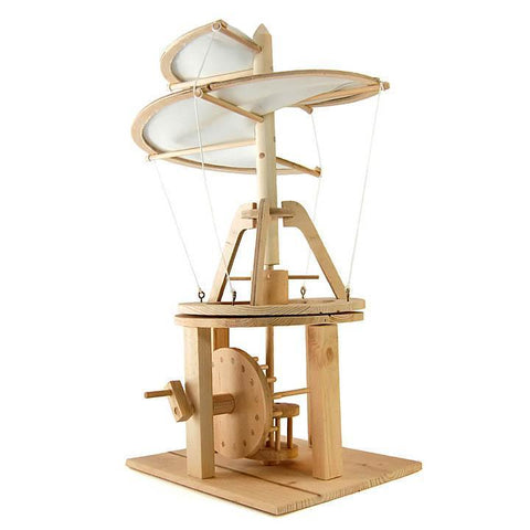 Leonardo da Vinci helicopter-science & nature-Pathfinders-Dilly Dally Kids