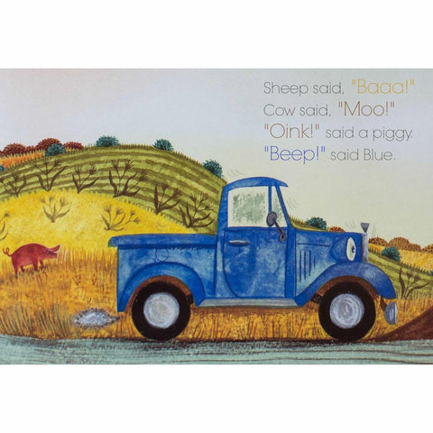 Little Blue Truck board book-books-Raincoast-Dilly Dally Kids