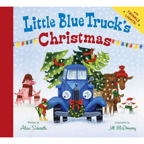 Little Blue Truck's Christmas book-Christmas & Holidays-Raincoast-Dilly Dally Kids