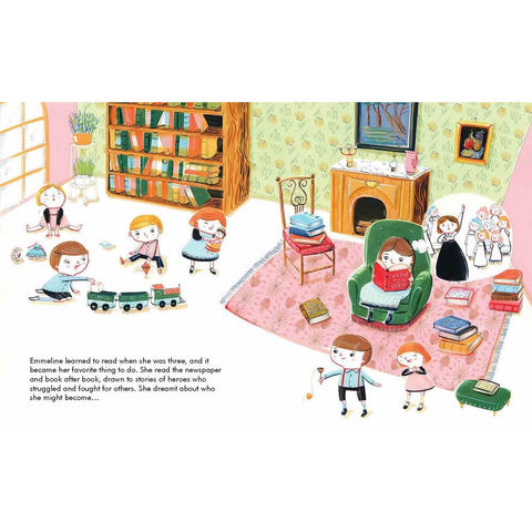 little people, big dreams: Emmeline Pankhurst-books-Hachette-Dilly Dally Kids