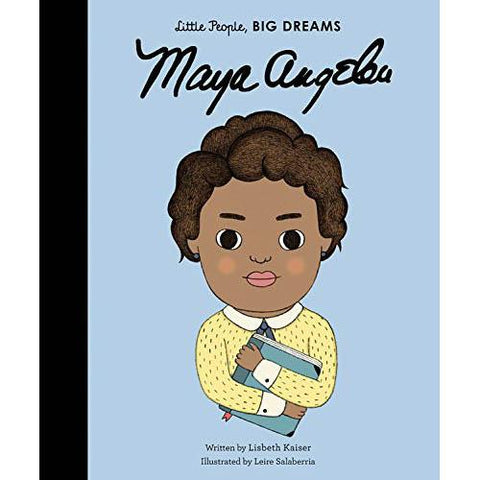 little people, big dreams: Maya Angelou-books-Hachette-Dilly Dally Kids