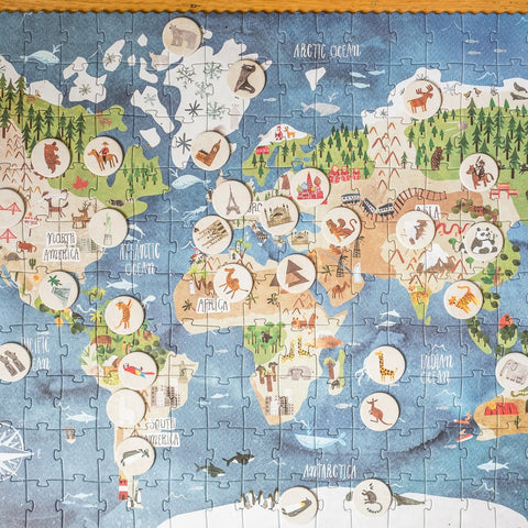 Londji discover the world 200 piece puzzle