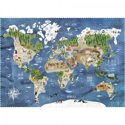Londji discover the world 200 piece puzzle-puzzles-Fire the Imagination-Dilly Dally Kids