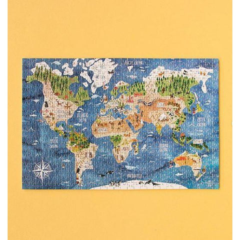 Londji discover the world 600 piece MICRO puzzle