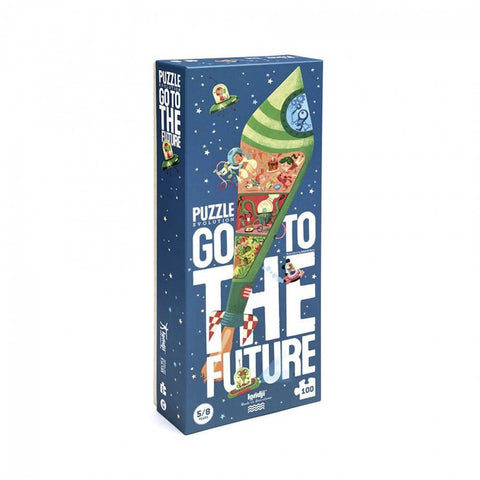 Londji go to the future 100 piece puzzle-puzzles-Fire the Imagination-Dilly Dally Kids