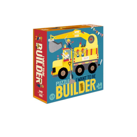 Londji I want to be a builder 36 piece puzzle-puzzles-Fire the Imagination-Dilly Dally Kids