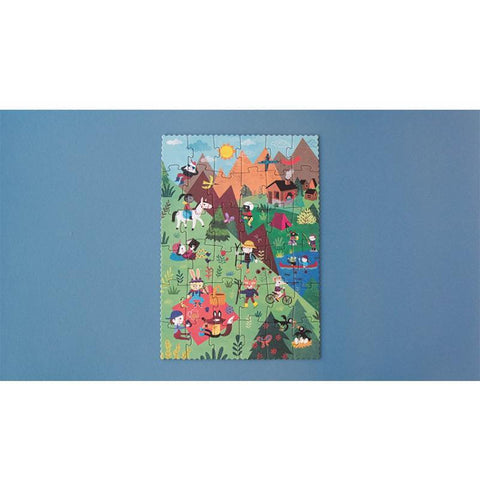Londji let's go to the mountain reversible 36 piece puzzle
