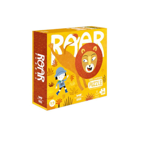 Londji lion roar 36 piece puzzle-puzzles-Fire the Imagination-Dilly Dally Kids