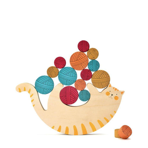 Londji meow balancing game-games-Fire the Imagination-Dilly Dally Kids