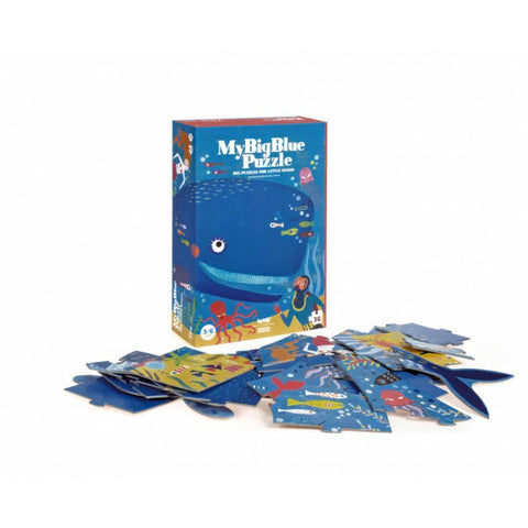 Londji my big blue 36 piece puzzle-puzzles-Fire the Imagination-Dilly Dally Kids