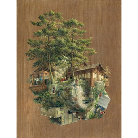 Londji my little world Japanese rock 1000 piece puzzle