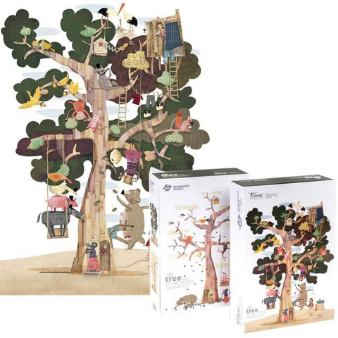 Londji my tree 50 piece puzzle-puzzles-Fire the Imagination-Dilly Dally Kids