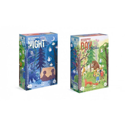 Londji night & day 54 piece puzzle-puzzles-Fire the Imagination-Dilly Dally Kids