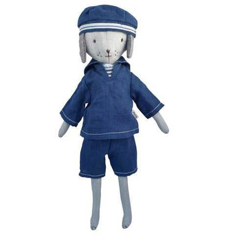 Maileg best friends sailor set-puppets, stuffies & dolls-Maileg-Dilly Dally Kids