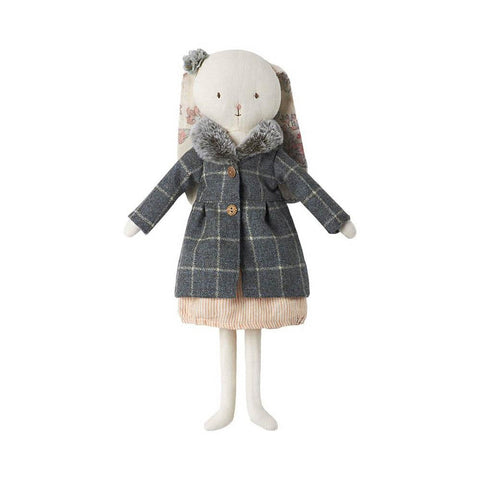 Maileg best friends wool coat-puppets, stuffies & dolls-Maileg-Dilly Dally Kids