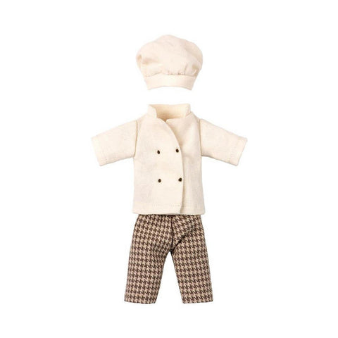 Maileg chef clothes for mouse-puppets, stuffies & dolls-Maileg-Dilly Dally Kids