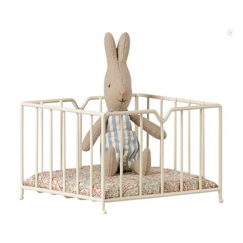 Maileg playpen for micro animals-puppets, stuffies & dolls-Maileg-Dilly Dally Kids